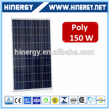 High Quality 130W 135 w 140 wp 145Wp 150w 160watt 165 watt Poly Solar Panel Sale