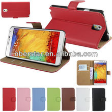 ULTRA THIN GENUINE LEATHER WALLET COVER CASE SAMSUNG GALAXY NOTE 3 N9000 N9005