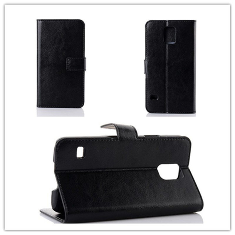 PU Leather Back Cover Case Mobile Phone Flip Cover Case for Samsung Galaxy Ace 3 S7270 S7272 / S5 / S4 / Note 3 / Note 2