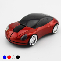 Cool car shape design tech wireless mouse deals 3d 1000DPI