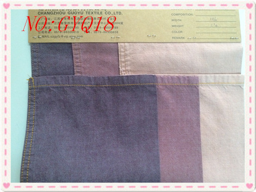 China suppliers high quality cotton polyester stretch denim fabric for jeans.