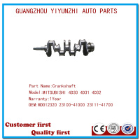 Best quality auto engine parts crankshaft for MITSUBISHI ENGINE 4D30 4D31 4D32 OEM:MD012320 23100-41000 23111-41700
