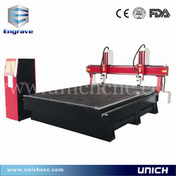 Easy operation multi spindle cnc router price/wood cutting cnc router