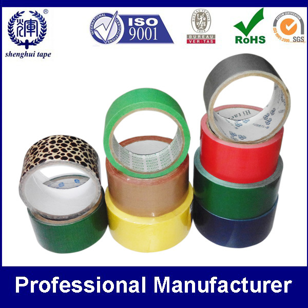 OEM Custom Logo Printed/Customized Colorful Cloth Duct Tape Manufacturer