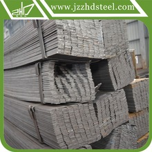 2016 news galvanized flat steel bar with high quality steel