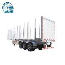 Best sell well-designed steel material new semi cargo trailer price