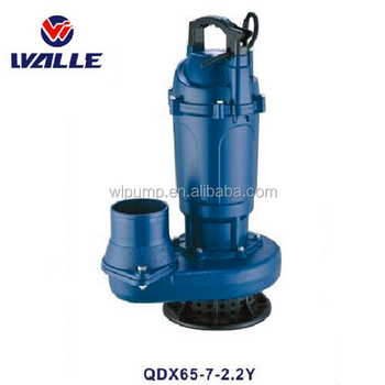 QDX series small power electric water pump 0.25KW 0.37KW 0.75KW 1.1KW 2.2KW