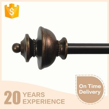 Royal style diameter 0.625'' wrought iron curtain rods