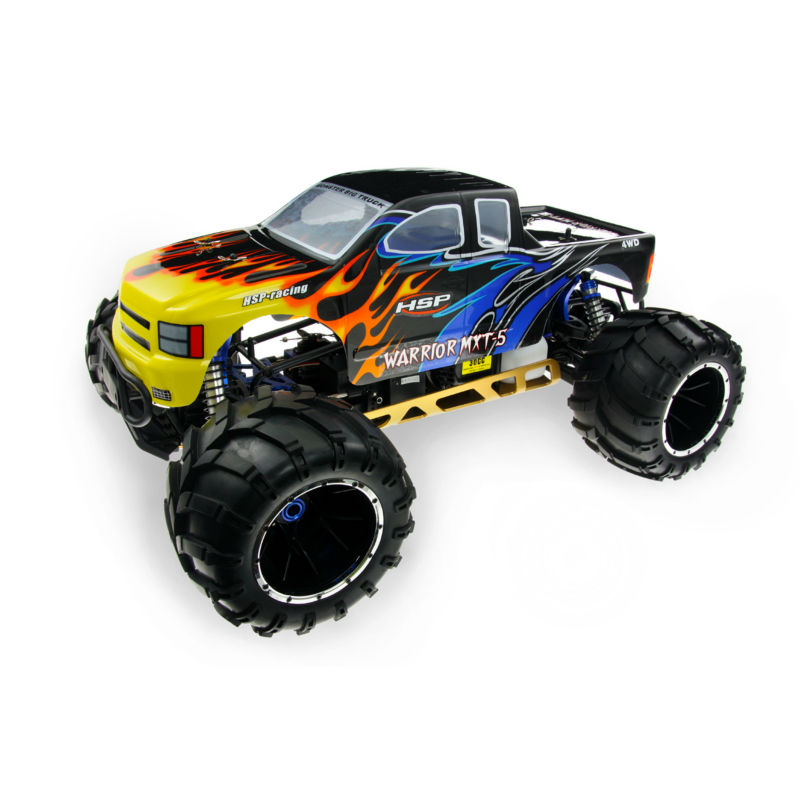 2016 new product hsp champion big foot 1/5th 30cc rc nitro gas powered 4x4 trucks rc car ERC50 for sale