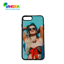 Custom made sublimation tpu phone case for iphone 7 plus