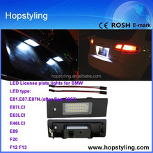 china led car light Exporter for E87 LCI license plate light car led light/ auto license plate/car LED light