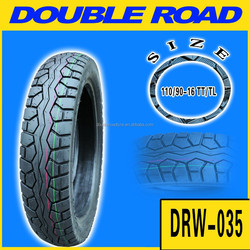 High quality chinese motorcycle tires110/90-16 with popular patterns