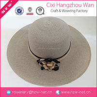 Wholesale goods from china wide brim hat, lady paper hat, cap and hat