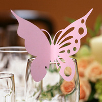 Place card butterfly designs for wedding