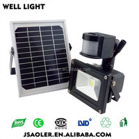 Solar Floodlight New Design Pir Motion