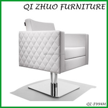 White color salon chair /barber salon chair prices QZ-F994M
