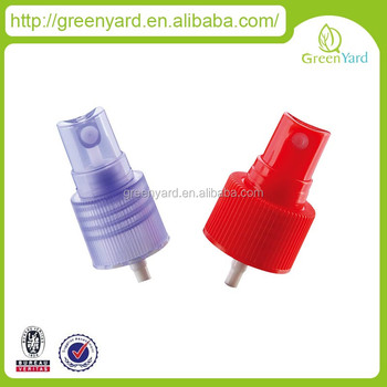 fine mist sprayer for cosmetic perfume sprayer