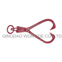 16in Steel Skidding Tongs