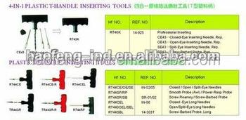Tire valve repair tools
