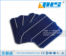 6 Inch 3BB Monocrystallin Best Solar Cell Price for solar panel