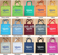 2015 high quality weekend cotton bag