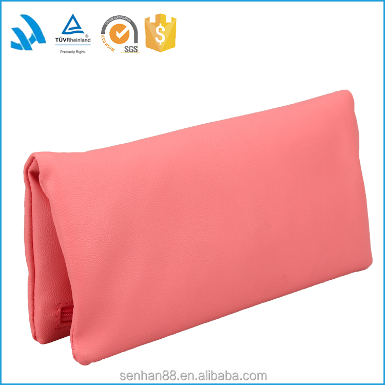 Folding High Quality Fashion Cheap Pu Leather ladies Hand Purse Wholesale