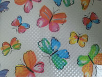 printed colorful butterfly pattern EVA/PVC printed embossed 3d laser hologram table covers mat table cloth