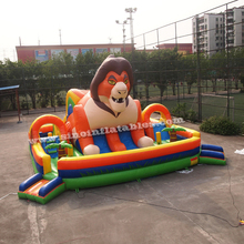 9x9m forest king kids giant inflatable playground made of lead free material from China inflatable manufacturer