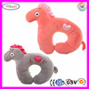 E661 Cute U Shaped Healthy Massage Cartoon Pillow Neck Support Horse Animal Shaped Massage Pillow