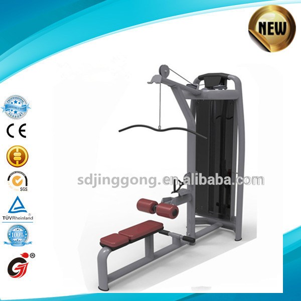 Heavy duty JG-1859 commercial fitness machine /Free to adjust the weight lat pulldown/low row