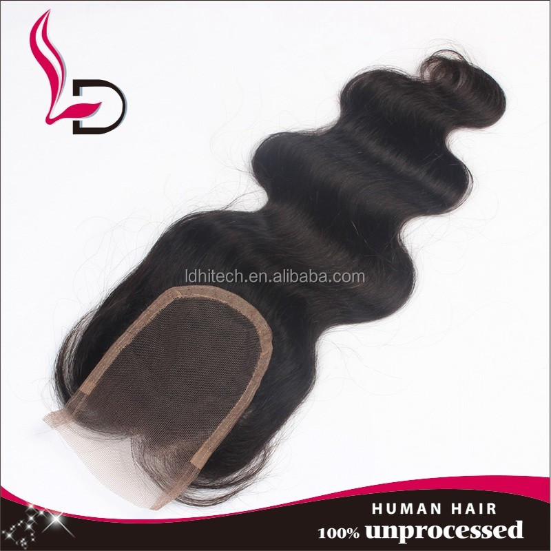 body wave unprocessed indian hair weaving alibaba express in spanish 100% human hair lace closures