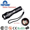 Brightest Zoom 5 Modes G700 Long Range 18650 Rechargeable XML T6 10W LED G700 Tactical Flashlight