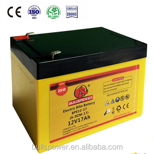 Real Capacity e-moto 12v 20ah battery e-bike 6 dzm 20 lead acid battery