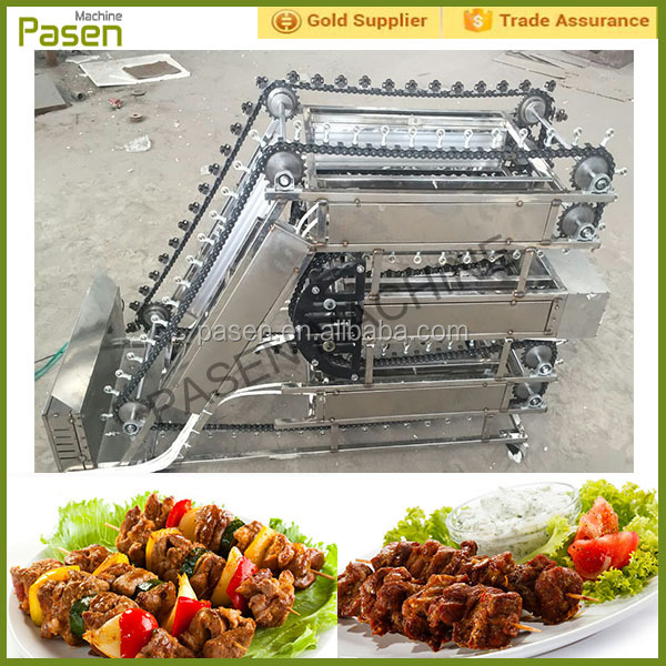 Automatic electric doner kebab machine