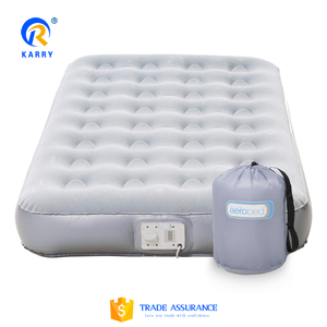 Hot sale folding air bed,queen size inflatable airbed,inflatable square air bed for kids and adult