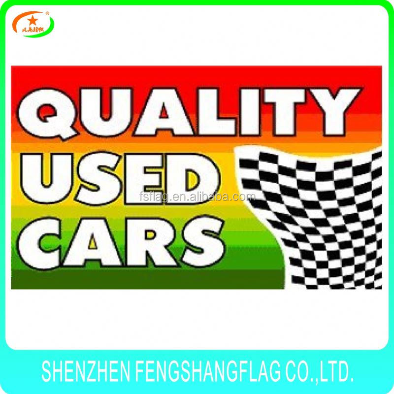 Sport team car flag custom design football camp banner soccer club pennant