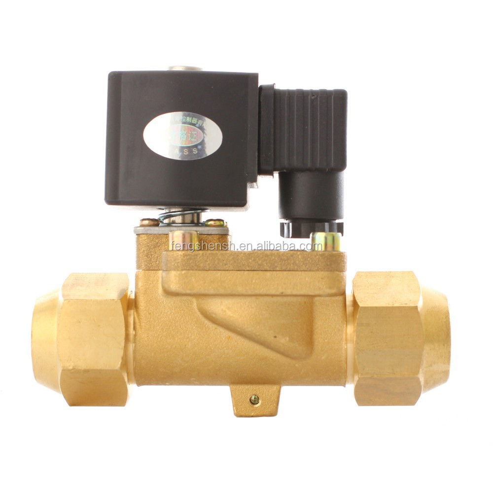 24v solenoid valve R134A, R22, R407C, R404A/507, R410A, Air, Water and Oil