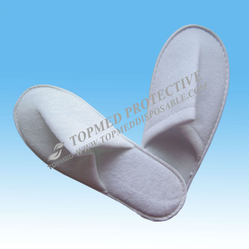 Hospitality industry slipper,non woven close slipper,SBPP chinelos for hotel