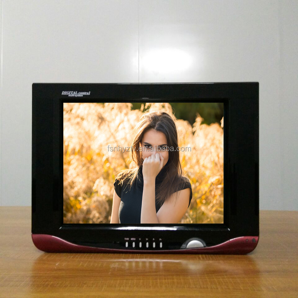 21 inch ultra slim crt tv with TV SKD