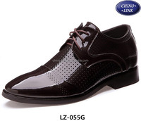 New style Inner heightening men leather shoes /men dress shoe