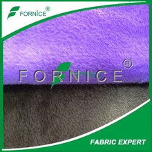 China manufacturer super soft colorful green velvet fabric