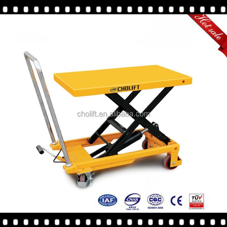 Cholift ciseaux table l vatrice tables l vatrices id de for Table elevatrice a ciseaux
