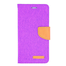New arrival popular flip cover mobile phone pouch Oxford fabric leather case for samsung galaxy j2