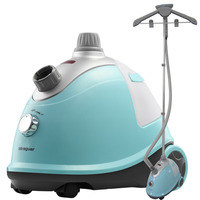 1800W anti-drip floor standing professional fabric industrial steam press iron for silk