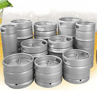 20L 30L 50L EURO Standard Food grade stainless steel draft craft beer keg for brewery equipment