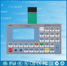 High quality waterproof membrane keyboard with 3M300Lse adhesive