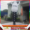 New finished tire inflatable air dancer costume with customized logo
