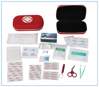 High Grade EVA Road Travel Waterproof first aid kit with CE&FDA Approved