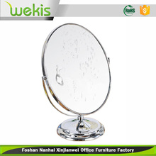Oval Shape Magnification Cosmetic Fancy Stand Up Table Mirrors
