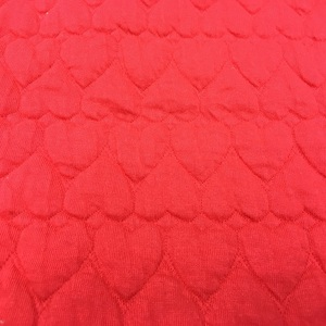 cotton / poly Jacquard quilted fabric